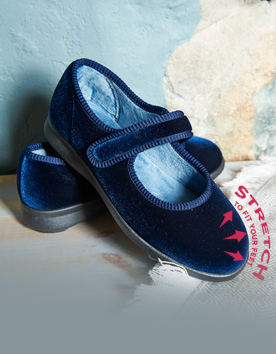 NEW STRETCH HOUSE SHOES
