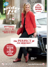 Request or view the Wider Fit Shoes catalogue